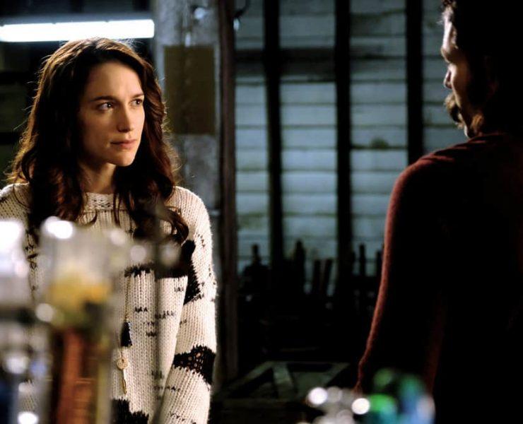 """WYNONNA EARP -- """"She Ain't Right"""" Episode 204 -- Pictured: Melanie Scrofano as Wynona Earp"""