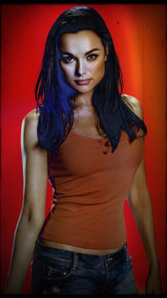 BLOOD DRIVE -- Season:1 -- Pictured: Christina Ochoa as Grace -- (Photo by: David Bloomer/Syfy)