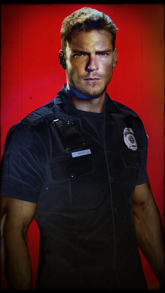 BLOOD DRIVE -- Season:1 -- Pictured: Alan Ritchson as Arthur -- (Photo by: David Bloomer/Syfy)