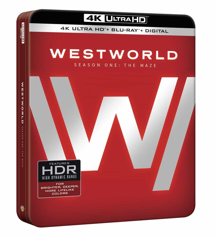 Westworld Season 1 4K Ultra HD Blu-ray + Digital Cover