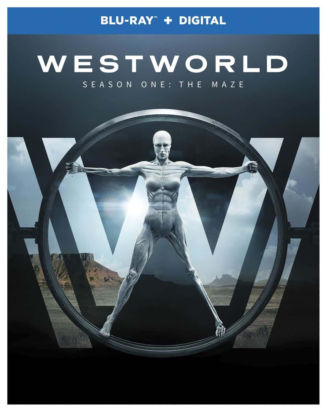 Westworld Season 1 Blu-ray + Digital Cover