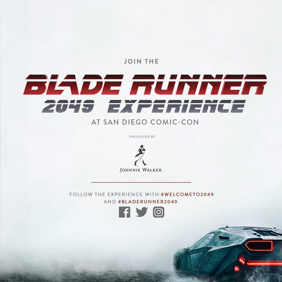 Comic Con Blade Runner 2049 Experience