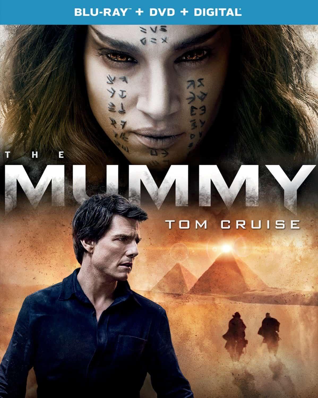 The Mummy Bluray DVD 2017