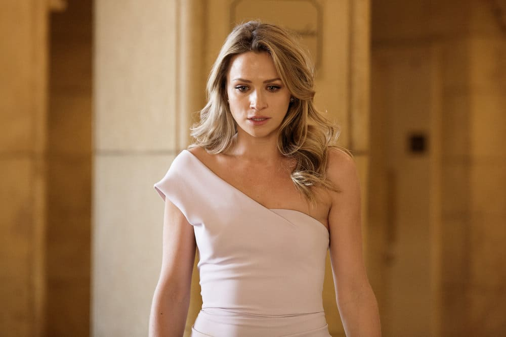 """SHOOTER -- """"The Hunting Party"""" Episode 201 -- Pictured: Shantel Vansanten as Julie Swagger"""