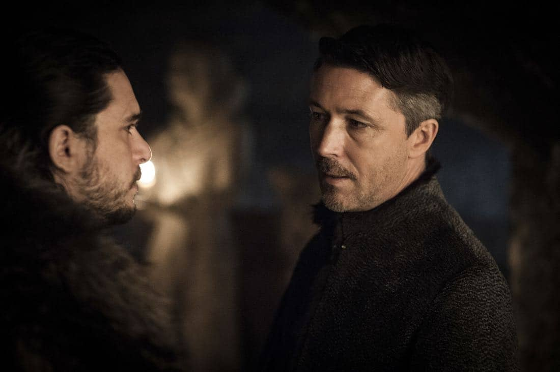 Game Of Thrones Episode 62 (season 7, episode 2), debut 7/23/17: Kit Harington, Aiden Gillen