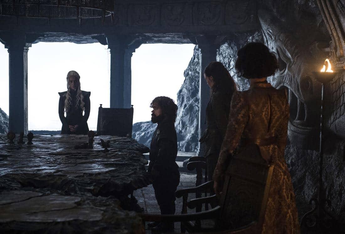 Game Of Thrones Episode 62 (season 7, episode 2), debut 7/23/17: Emilia Clarke, Peter Dinklage, Gemma Whelan, Indira Varma