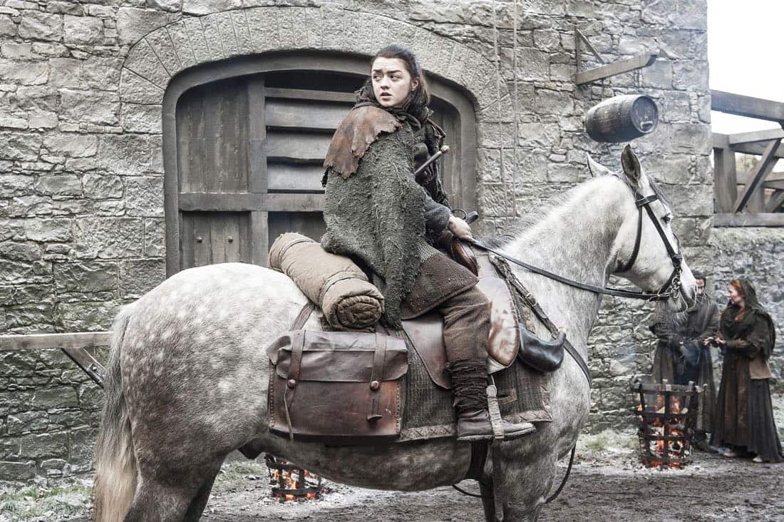 Game Of Thrones Episode 62 (season 7, episode 2), debut 7/23/17: Maisie Williams