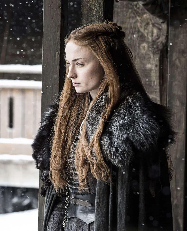 Game Of Thrones Episode 62 (season 7, episode 2), debut 7/23/17: Sophie Turner