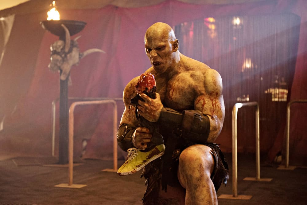 "BLOOD DRIVE -- ""Gentleman's Agreement"" Episode 107 -- Pictured: Martyn Ford as Denali"