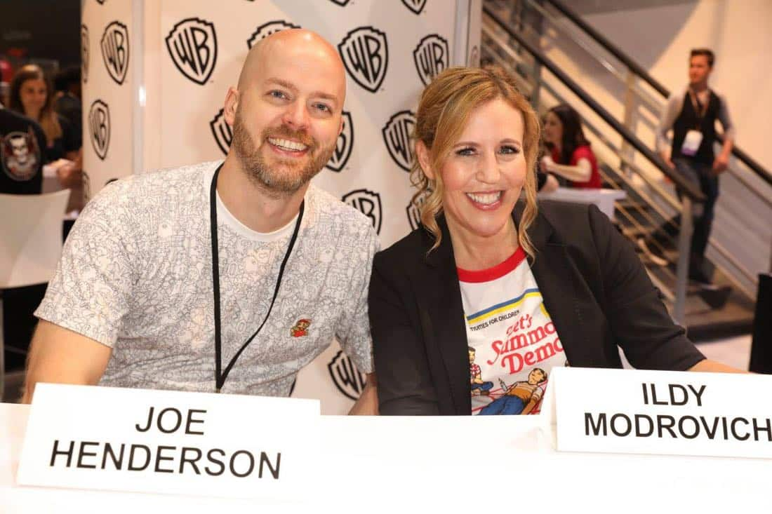 LUCIFER executive producers Joe Henderson and Ildy Modrovich greet fans of the series at the Warner Bros. booth at Comic-Con 2017 on Saturday, July 22. #WBSDCC (© 2017 WBEI. All Rights Reserved)