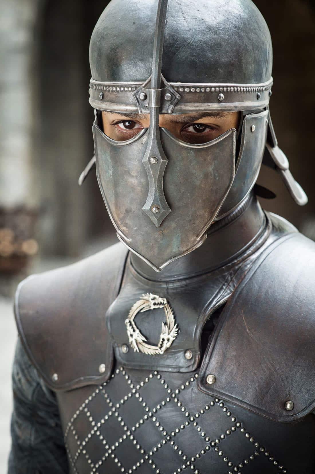 Episode 63 (season 7, episode 3), debut 7/30/17: Jacob Anderson. photo: Helen Sloan/courtesy of HBO