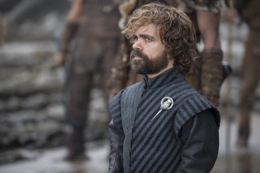 Episode 63 (season 7, episode 3), debut 7/30/17: Peter Dinklage. photo: Macall B. Polay/courtesy of HBO