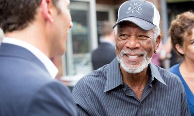 Morgan Freeman at the CBS Summer Soirée for the annual TCA press tour, held on August 1, 2017 in Los Angeles, CA. Photo: Jon Endow/CBS ©2017 Broadcasting Inc. All Rights Reserved