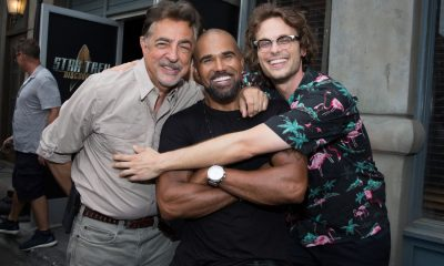 Joe Mantegna, Shemar Moore, and Matthew Gray Gubler at the CBS Summer Soirée for the annual TCA press tour, held on August 1, 2017 in Los Angeles, CA. Photo: Jon Endow/CBS ©2017 Broadcasting Inc. All Rights Reserved