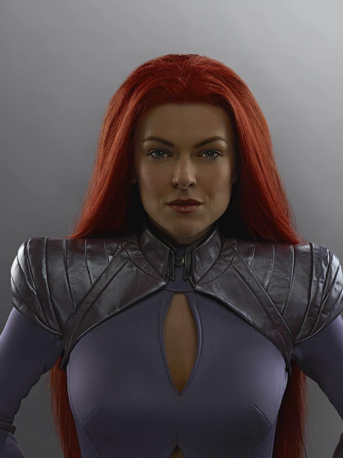 "MARVEL'S INHUMANS - ""Marvel's Inhumans"" stars Serinda Swan as Medusa. (ABC/Michael Muller)"