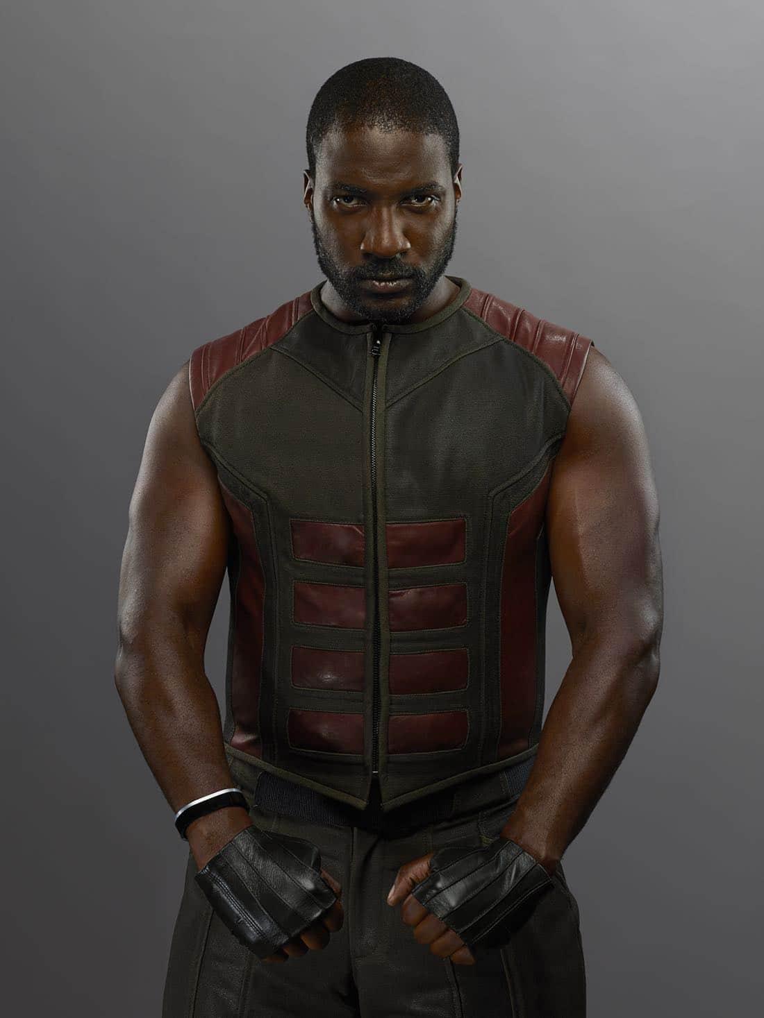 """MARVEL'S INHUMANS - """"Marvel's Inhumans"""" stars Eme Ikwuakor as Gorgon. (ABC/Michael Muller)"""