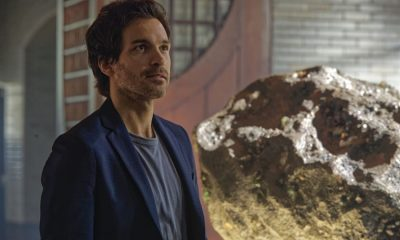 """Chip Off the Ol' Block"" - Darius recruits Grace, Harris and Liam for a dangerous mission, and Jillian confronts Liam about his secret, on SALVATION, Wednesday, August 9 (9:00-10:00, ET/PT). Pictured: Santiago Cabrera. Photo: Ben Mark Holzberg/CBS ©2017 CBS Broadcasting Inc. All Rights Reserved"
