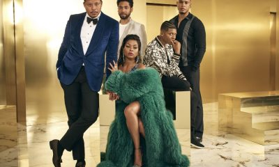 EMPIRE: Pictured Clockwise L-R: Terrence Howard, Jussie Smollett, Bryshere Gray, Trai Byers and Taraji P. Henson on Season Four of EMPIRE premiering Wednesday, Sept. 27 (8:00-9:00 PM ET/PT) on FOX. ©2017 Fox Broadcasting Co. CR: Michael Lavine/FOX