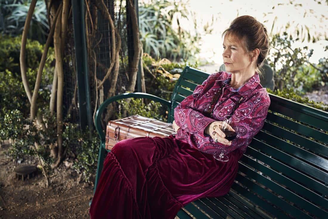 BETTER THINGS -- Pictured: Celia Imrie as Phyllis. CR: Pamela Littky/FX