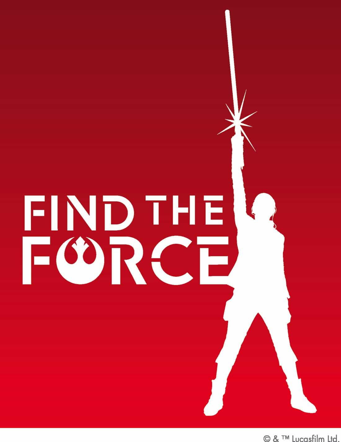 Star Wars Find The Force Poster