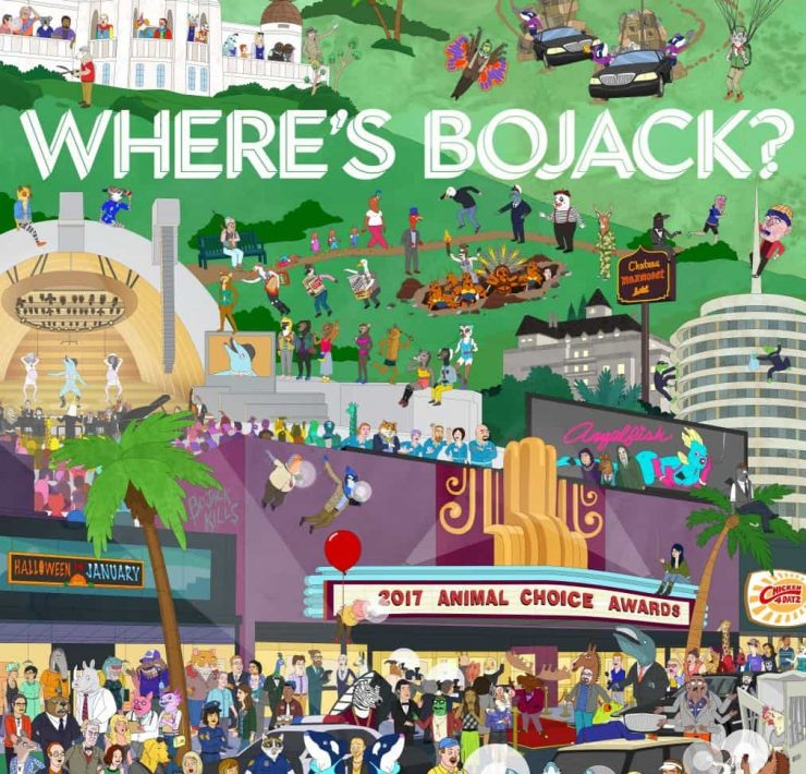BOJACK-HORSEMAN-Season-4-Poster