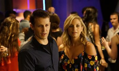 """Cutting Losses"" -- Danny contemplates retiring until Erin enlists him to help her with a case involving her ex-husband, Jack (Peter Hermann). Also, Jamie and Eddie go undercover as a couple, and Frank butts heads with the new mayor of New York City, Margaret Dutton (Lorraine Bracco), on the eighth season premiere of BLUE BLOODS, Friday, Sept. 29 (10:00-11:00 PM, ET/PT) on the CBS Television Network. Pictured: Will Estes, Vanessa Ray. Photo: John Paul Filo/CBS ©2017CBS Broadcasting Inc. All Rights Reserved."