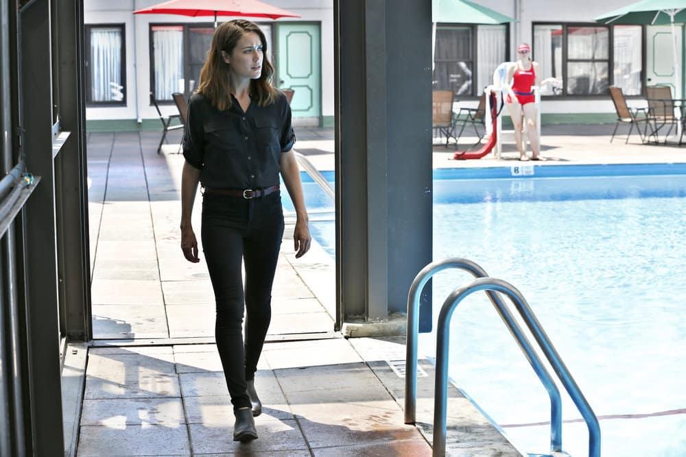 "THE BLACKLIST -- ""Smokey Putnam (#30)"" Episode 501 -- Pictured: Megan Boone as Elizabeth Keen -- (Photo by Will Hart/NBC)"