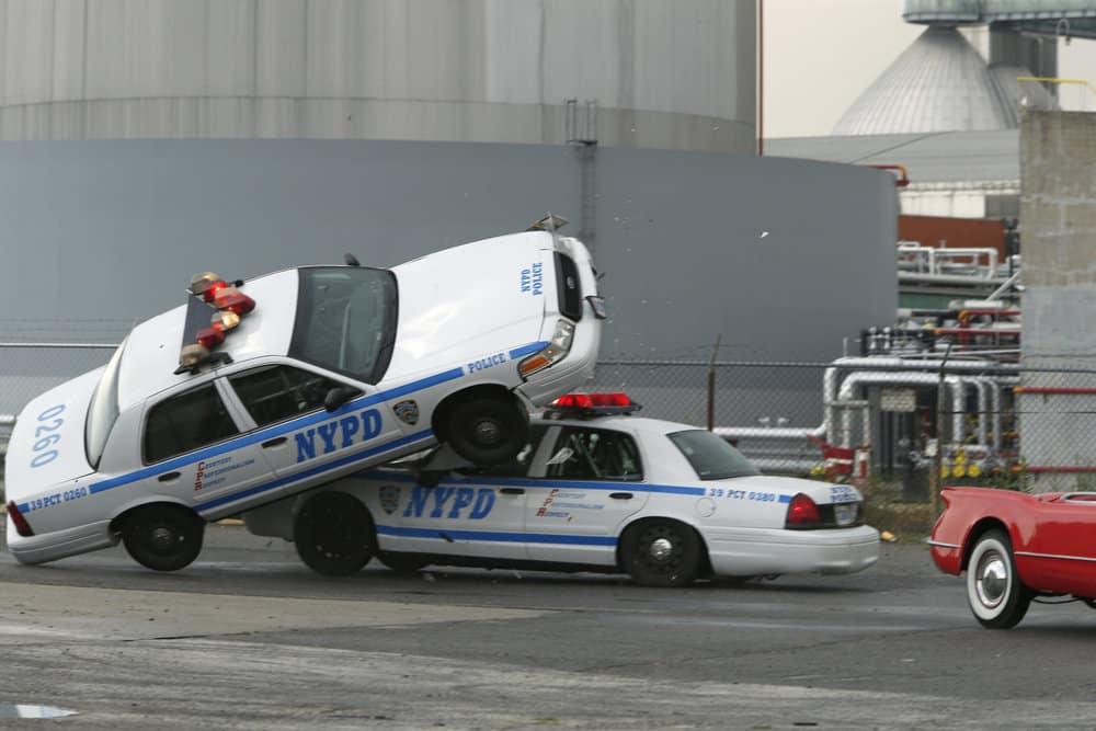 "THE BLACKLIST -- ""Smokey Putnam (#30)"" Episode 501 -- Pictured: Car Crash -- (Photo by Will Hart/NBC)"