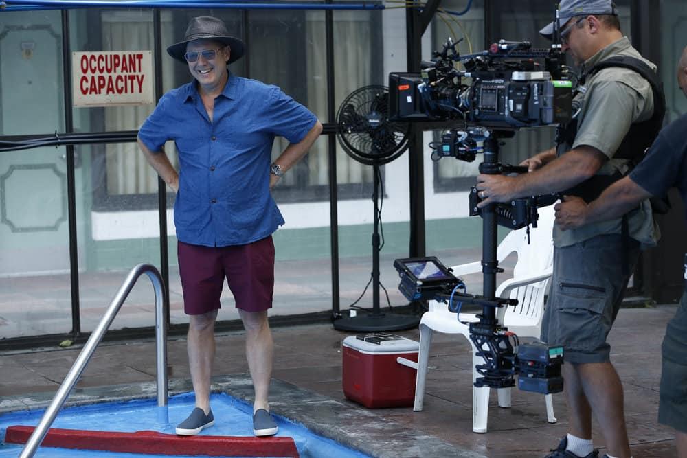 "THE BLACKLIST -- ""Smokey Putnam (#30)"" Episode 501 -- Pictured: James Spader as Raymond ""Red"" Reddington -- (Photo by Will Hart/NBC)"