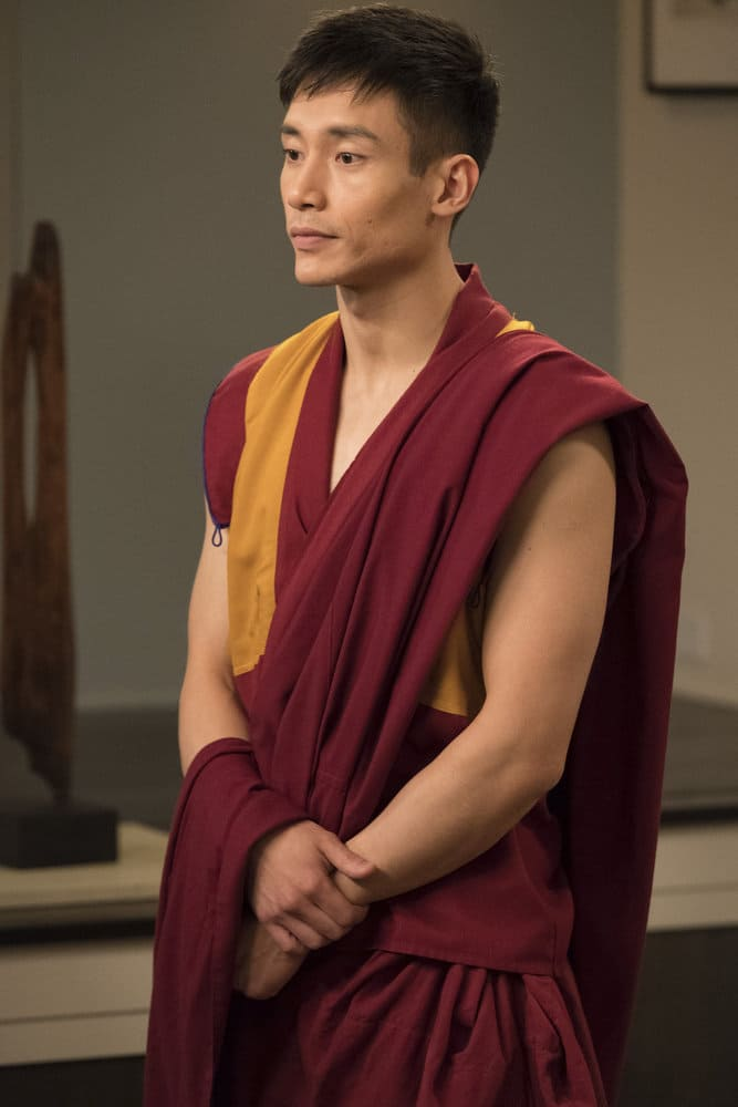 """THE GOOD PLACE -- """"Everything is Great!"""" Episode 201 -- Pictured: Manny Jacinto as Jianyu -- (Photo by: Colleen Hayes/NBC)"""