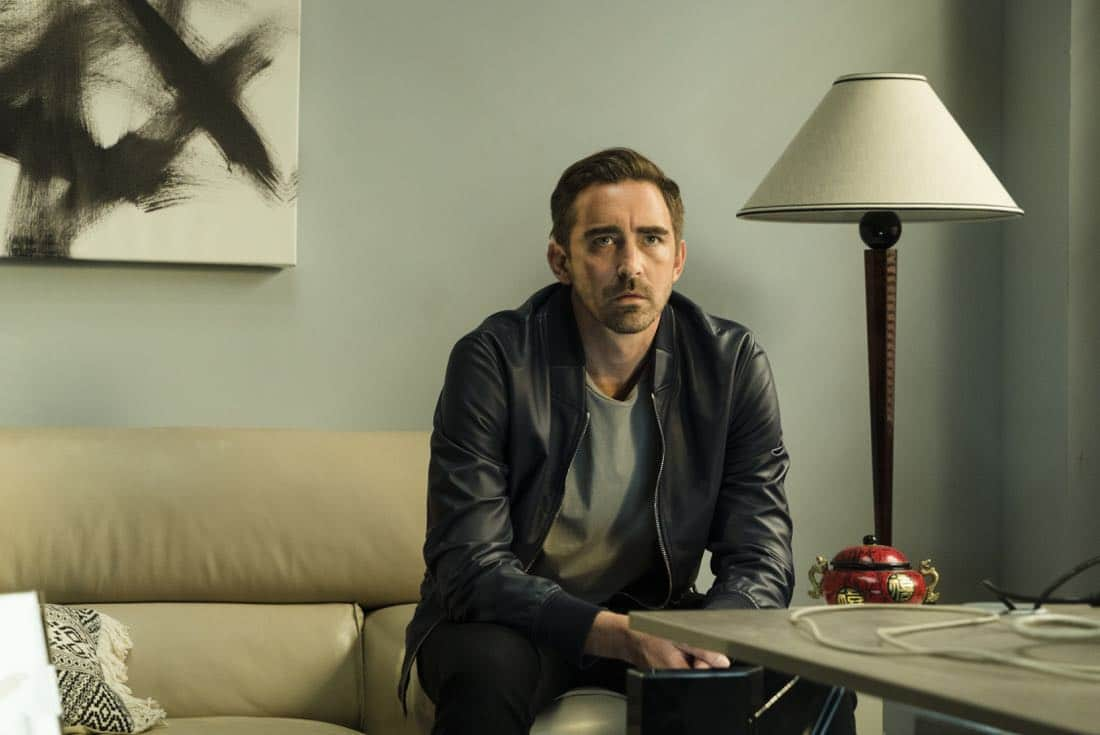 Lee Pace as Joe MacMillan - Halt and Catch Fire _ Season 4, Episode 5 - Photo Credit: Tina Rowden/AMC