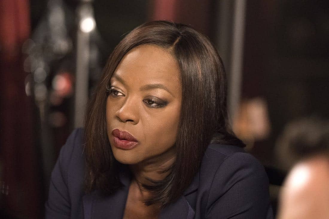 "HOW TO GET AWAY WITH MURDER - ""I'm Going Away"" - In the wake of Wes' tragic death, Annalise returns to her family home to pick up the pieces of her shattered life, and realizes that, in order to rebuild, she must make a tough and shocking decision. Meanwhile, ""the Keating 4"" all face an uncertain future while Laurel becomes obsessed with finding out what actually happened to Wes the night he died. In a flash-forward, a terrifying crime is committed and everyone is a suspect on the highly anticipated season four premiere of ""How to Get Away with Murder,"" THURSDAY, SEPTEMBER 28 (10:00-11:00 p.m. EDT), on The ABC Television Network. (ABC/Mitch Haaseth)"