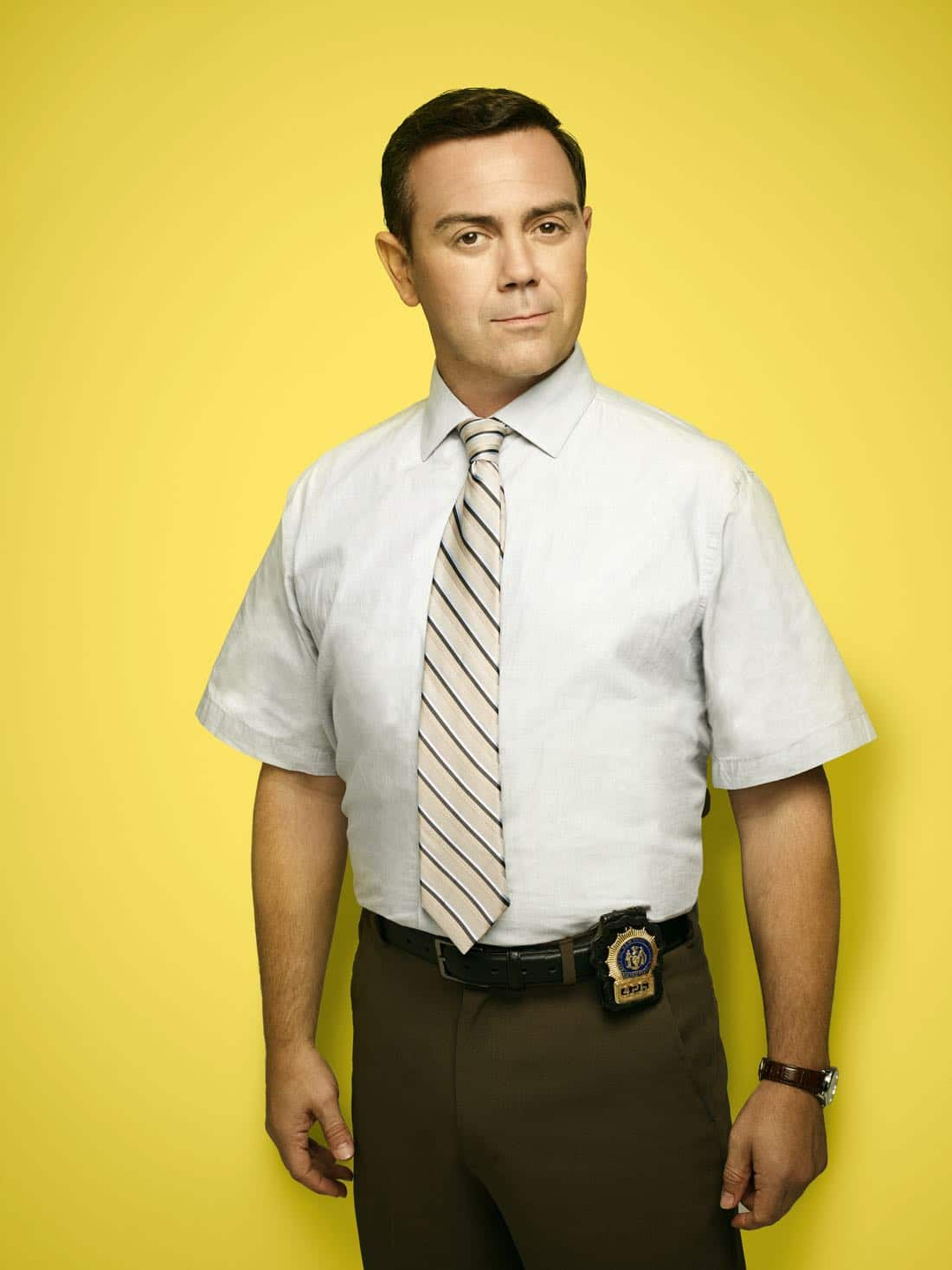 BROOKLYN NINE-NINE: Joe Lo Truglio as Detective Charles Boyle. BROOKLYN NINE-NINE Season Five premieres Tuesday, Sept. 26 (9:30-10:00 PM ET/PT) on FOX. ©2017 Fox Broadcasting Co. CR: Robert Trachtenberg/FOX