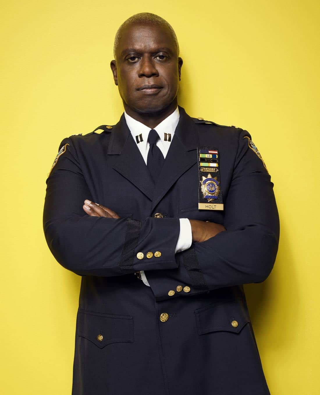 BROOKLYN NINE-NINE: Andre Braugher as Captain Ray Holt. BROOKLYN NINE-NINE Season Five premieres Tuesday, Sept. 26 (9:30-10:00 PM ET/PT) on FOX. ©2017 Fox Broadcasting Co. CR: Robert Trachtenberg/FOX