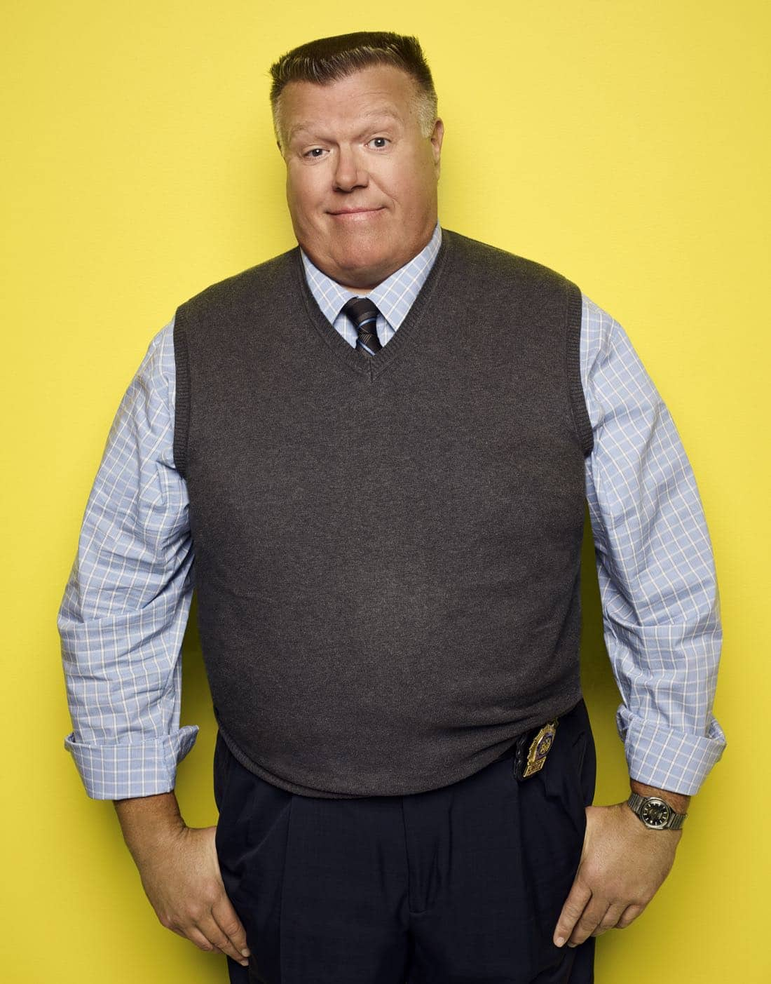 BROOKLYN NINE-NINE: Joel McKinnon Miller as Detective Scully. BROOKLYN NINE-NINE Season Five premieres Tuesday, Sept. 26 (9:30-10:00 PM ET/PT) on FOX. ©2017 Fox Broadcasting Co. CR: Robert Trachtenberg/FOX