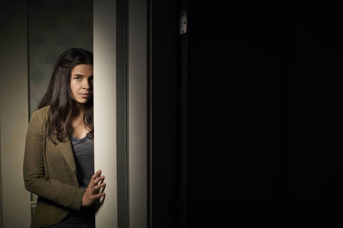 THE EXORCIST: Zuleikha Robinson as Mouse in THE EXORCIST premiering Friday, Sept. 29 (9:00-10:00 PM ET/PT) on FOX. ©2017 Fox Broadcasting Co. Cr: Mathieu Young/FOX