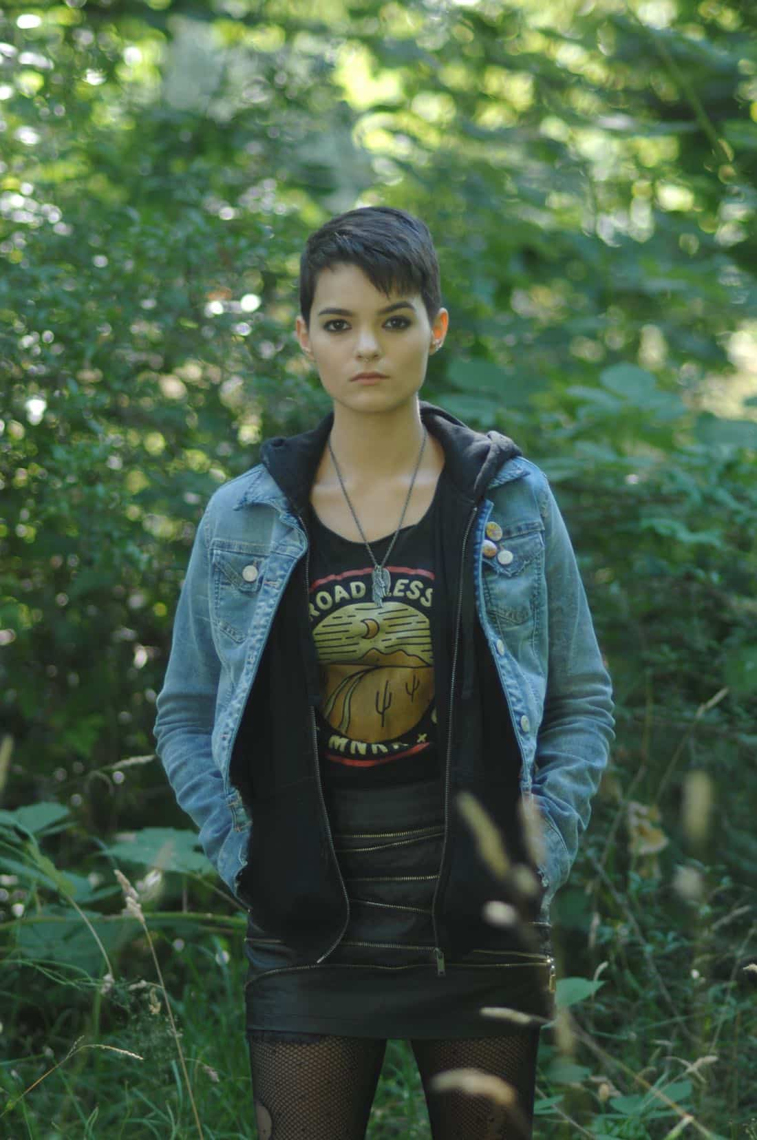 "THE EXORCIST: Brianna Hildebrand in the ""Janus"" season premiere episode of THE EXORCIST airing Friday, Sept. 29 (9:00-10:00 PM ET/PT) on FOX. ©Fox Broadcasting Co. Cr: Sergei Bachlakov/FOX"