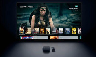 Apple 4k TV _screen_and_appletv