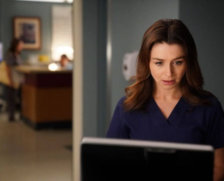 """GREY'S ANATOMY - """"Get off on the Pain"""" - Meredith struggles to come up with a new plan for Owen's sister. Jo makes a surprising choice regarding Alex, and Andrew's sister's controversial research leads to a shocking discovery, on """"Grey's Anatomy,"""" THURSDAY, SEPTEMBER 28 (9:00-10:00 p.m. EDT), on The ABC Television Network. (ABC/Mitch Haaseth)"""