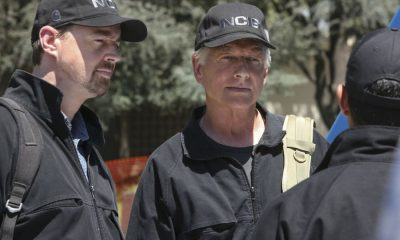 """Twofer"" -- NCIS is called in to investigate when the body of a missing Navy Lieutenant who disappeared a year and a half ago is located by a cemetery grounds crew while they are relocating caskets on the property. Also, Gibbs and McGee must pass a psych evaluation with Doctor Grace Confalone (Laura San Giacomo) before officially resuming all work responsibilities, on NCIS, Tuesday, Oct. 3 (8:00-9:00 PM, ET/PT) on the CBS Television Network. Pictured: Sean Murray, Mark Harmon. Photo: Patrick McElhenney/CBS ©2017 CBS Broadcasting, Inc. All Rights Reserved"