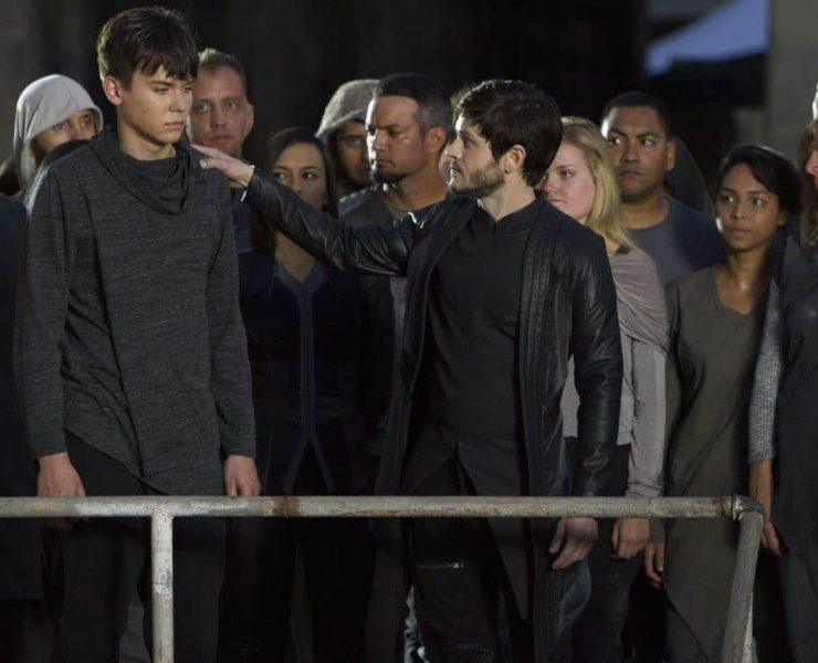 """MARVEL'S INHUMANS - """"Behold...The Inhumans"""" - The highly anticipated new Marvel television series """"Marvel's Inhumans"""" makes its debut on the small screen with the network premiere of the series' first two episodes on FRIDAY, SEPTEMBER 29 (8:00-10:01 p.m. EDT), on The ABC Television Network. (ABC/Mario Perez) ARI DALBERT, IWAN RHEON"""