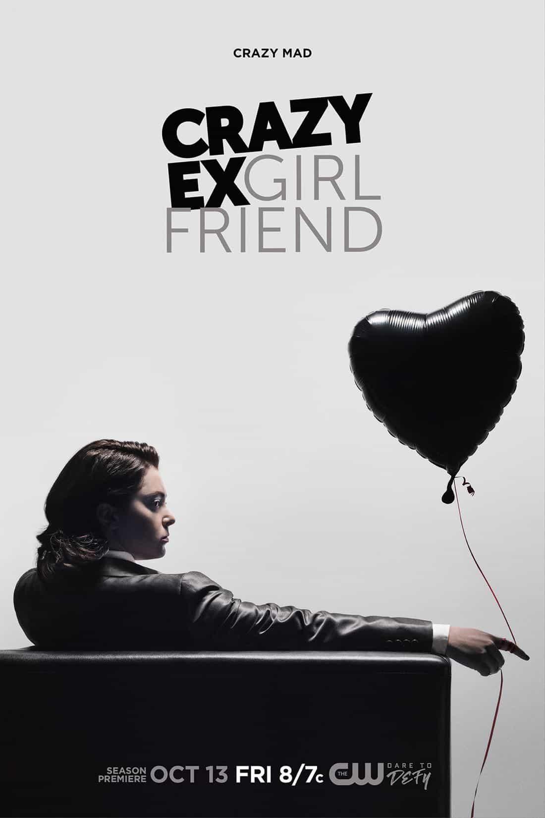 Crazy Ex Girlfriend Rachel Bloom Mad Men Poster Key Art