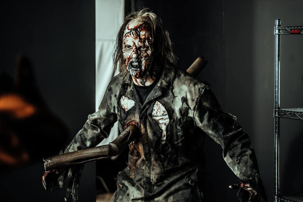 Z NATION -- Season:4 -- Pictured: Tyson Daily as Scampy the Mad Z -- (Photo by: Daniel Sawyer Schaefer/Go2 Z 4/Syfy)