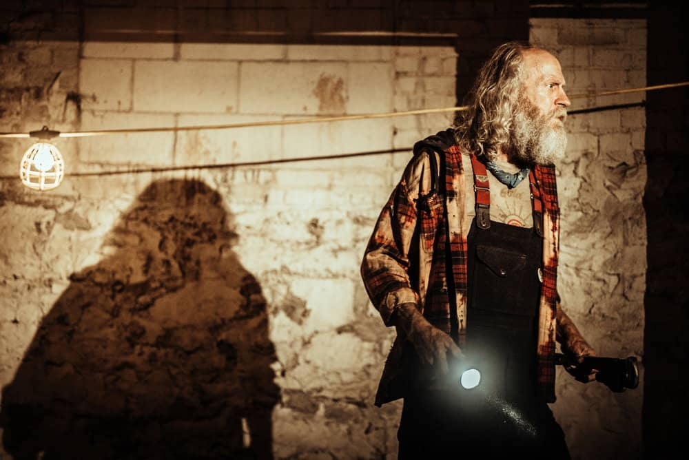 Z NATION -- Season:4 -- Pictured: Russell Hodgkinson as Doc -- (Photo by: Daniel Sawyer Schaefer/Go2 Z 4/Syfy)