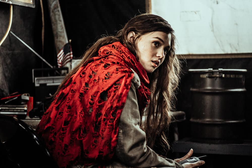Z NATION -- Season:4 -- Pictured: Natalie Taye as Red -- (Photo by: Daniel Sawyer Schaefer/Go2 Z 4/Syfy)