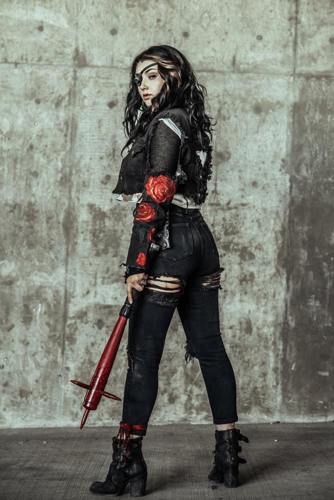 Z NATION -- Season:4 -- Pictured: Anastasia Baranova as Addy -- (Photo by: Daniel Sawyer Schaefer/Go2 Z 4/Syfy)
