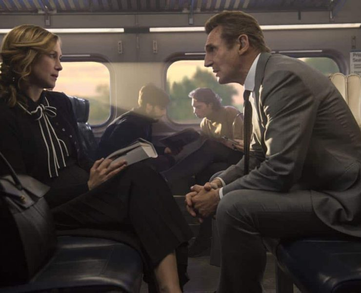 The Commuter In theaters January 12, 2018. Starring Liam Neeson, Vera Farmiga, Patrick Wilson, Sam Neill, Elizabeth McGovern.
