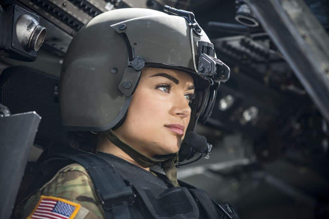 """Valor -- """"Pilot"""" -- Pictured: Christina Ochoa as Nora -- Credit: Erika Doss/The CW © 2017 The CW Network, LLC. All Rights Reserved"""