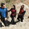 """THE ORVILLE: L-R: Seth MacFarlane, Halston Sage and J Lee in the """"About a Girl"""" episode of THE ORVILLE airing Thursday, Sept. 21 (9:00-10:00 PM ET/PT) on FOX. ©2017 Fox Broadcasting Co. Cr: Jordin Althaus/FOX"""