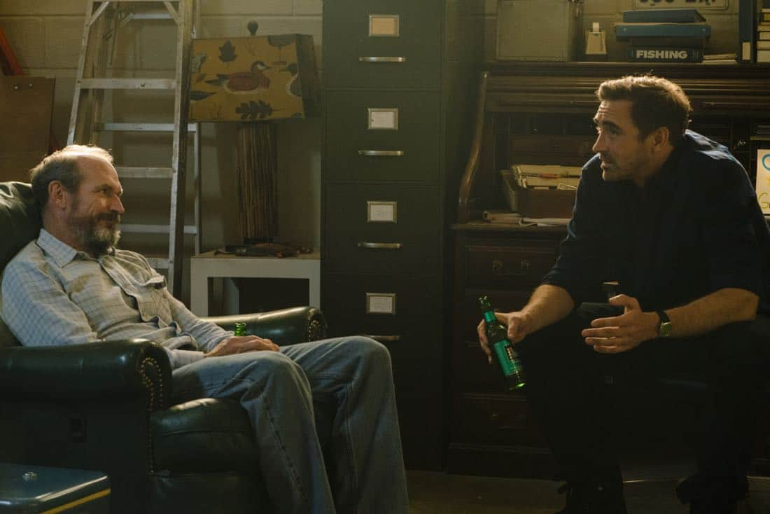 oby Huss as John Bosworth, Lee Pace as Joe MacMillan- Halt and Catch Fire _ Season 4, Episode 6 - Photo Credit: Tina Rowden/AMC